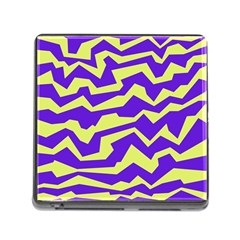 Polynoise Vibrant Royal Memory Card Reader (square)