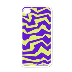 Polynoise Vibrant Royal Apple Iphone 4 Case (white)