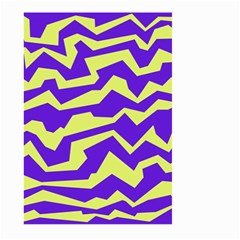 Polynoise Vibrant Royal Large Garden Flag (two Sides)