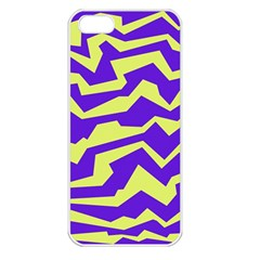 Polynoise Vibrant Royal Apple Iphone 5 Seamless Case (white)