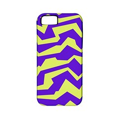 Polynoise Vibrant Royal Apple Iphone 5 Classic Hardshell Case (pc+silicone)