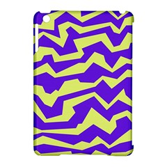 Polynoise Vibrant Royal Apple Ipad Mini Hardshell Case (compatible With Smart Cover)