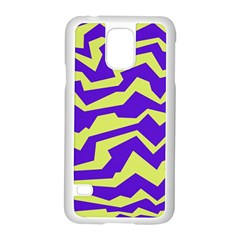 Polynoise Vibrant Royal Samsung Galaxy S5 Case (white)