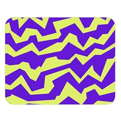 Polynoise Vibrant Royal Double Sided Flano Blanket (large)