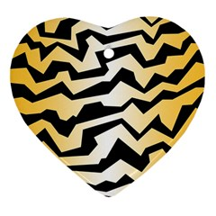 Polynoise Tiger Ornament (heart)