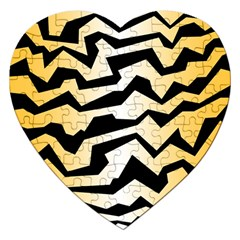 Polynoise Tiger Jigsaw Puzzle (heart)