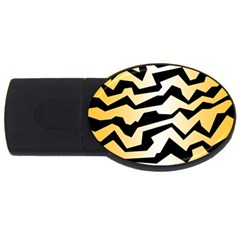 Polynoise Tiger Usb Flash Drive Oval (4 Gb)