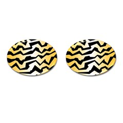 Polynoise Tiger Cufflinks (oval)