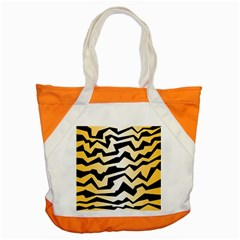 Polynoise Tiger Accent Tote Bag