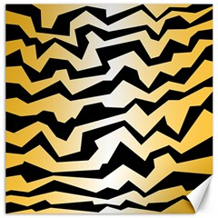 Polynoise Tiger Canvas 20  X 20