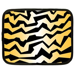 Polynoise Tiger Netbook Case (large)