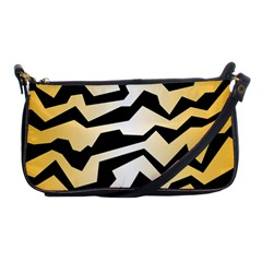 Polynoise Tiger Shoulder Clutch Bags