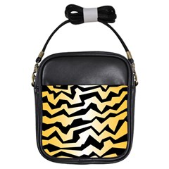 Polynoise Tiger Girls Sling Bags