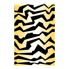 Polynoise Tiger Shower Curtain 48  X 72  (small)