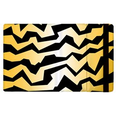 Polynoise Tiger Apple Ipad 2 Flip Case