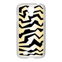 Polynoise Tiger Samsung Galaxy S4 I9500/ I9505 Case (white)