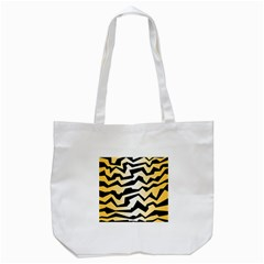 Polynoise Tiger Tote Bag (white)