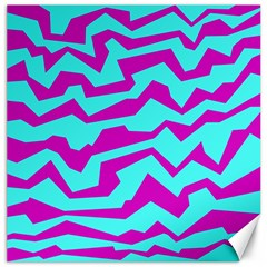Polynoise Shock New Wave Canvas 12  X 12