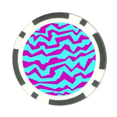 Polynoise Shock New Wave Poker Chip Card Guard