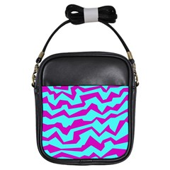 Polynoise Shock New Wave Girls Sling Bags