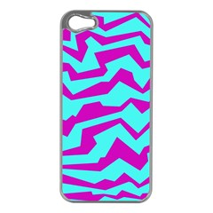 Polynoise Shock New Wave Apple Iphone 5 Case (silver)