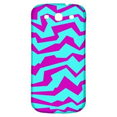 Polynoise Shock New Wave Samsung Galaxy S3 S Iii Classic Hardshell Back Case