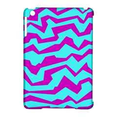 Polynoise Shock New Wave Apple Ipad Mini Hardshell Case (compatible With Smart Cover)