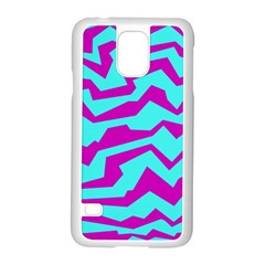 Polynoise Shock New Wave Samsung Galaxy S5 Case (white)