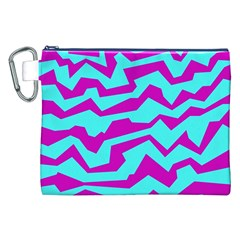 Polynoise Shock New Wave Canvas Cosmetic Bag (xxl)