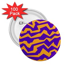 Polynoise Pumpkin 2 25  Buttons (100 Pack)