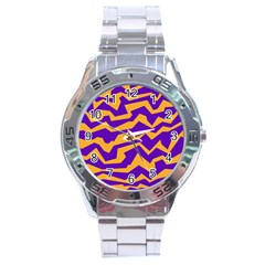 Polynoise Pumpkin Stainless Steel Analogue Watch