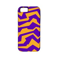 Polynoise Pumpkin Apple Iphone 5 Classic Hardshell Case (pc+silicone)