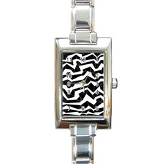 Polynoise Origami Rectangle Italian Charm Watch