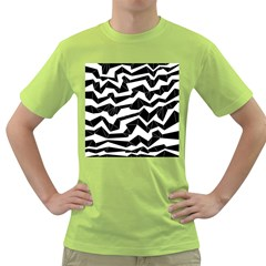 Polynoise Origami Green T Shirt