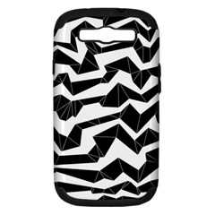 Polynoise Origami Samsung Galaxy S Iii Hardshell Case (pc+silicone)