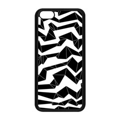 Polynoise Origami Apple Iphone 5c Seamless Case (black)