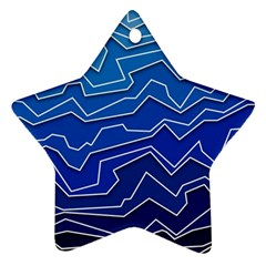 Polynoise Deep Layer Ornament (star)