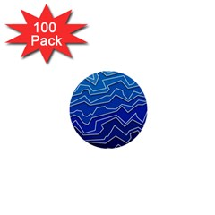 Polynoise Deep Layer 1  Mini Buttons (100 Pack)