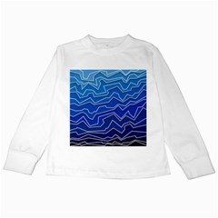 Polynoise Deep Layer Kids Long Sleeve T Shirts