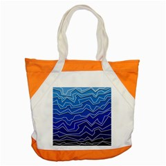 Polynoise Deep Layer Accent Tote Bag