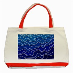 Polynoise Deep Layer Classic Tote Bag (red)