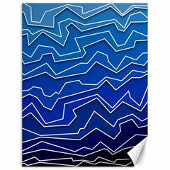 Polynoise Deep Layer Canvas 18  X 24