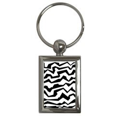 Polynoise Bw Key Chains (rectangle)