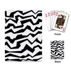 Polynoise Bw Playing Card