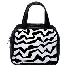 Polynoise Bw Classic Handbags (one Side)