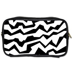 Polynoise Bw Toiletries Bags