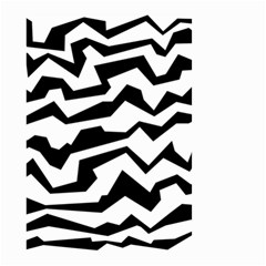 Polynoise Bw Small Garden Flag (two Sides)