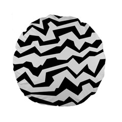 Polynoise Bw Standard 15  Premium Round Cushions