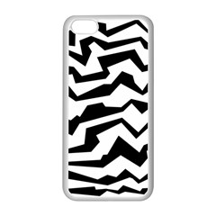 Polynoise Bw Apple Iphone 5c Seamless Case (white)