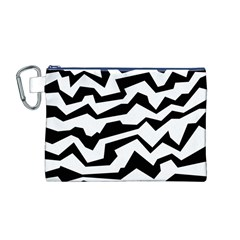 Polynoise Bw Canvas Cosmetic Bag (m)
